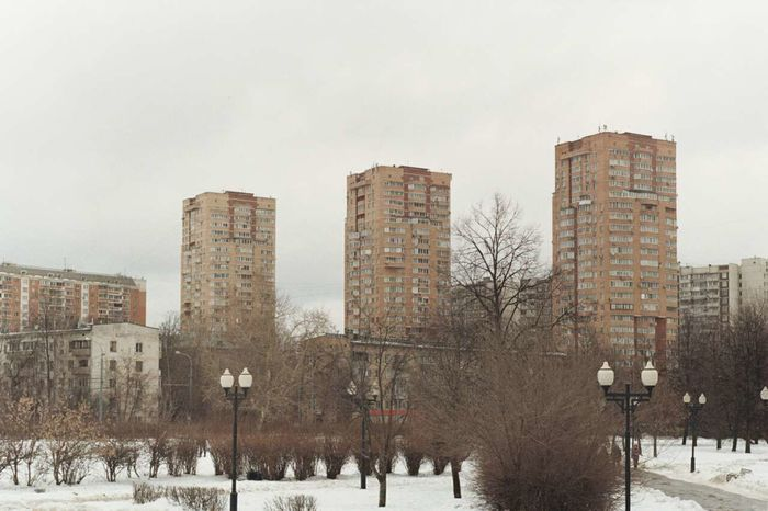 Architecture City Snow Cold Temperature Urban Skyline Building Exterior Outdoors