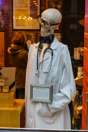 Skeleton DoctorEye Doctor  Skulls💀 One Man Only Only Men Archival Indoors  One Person People