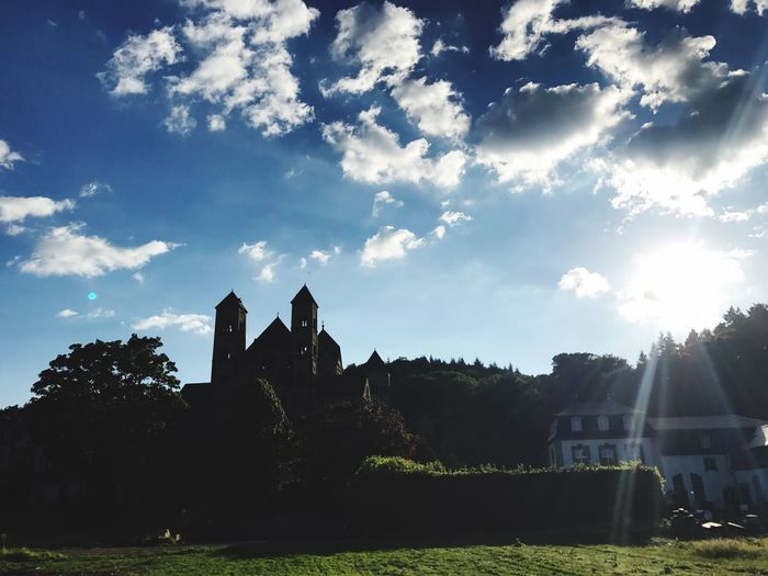 History The Past Sunlight Sky Travel Destinations Ancient Abbey