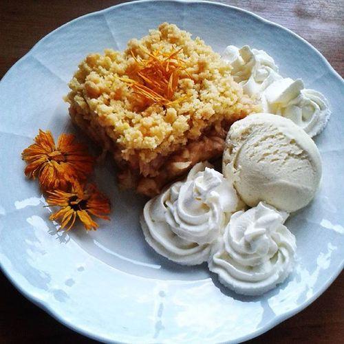 Niedziela Pycha Mmm Szarlotka Bitaśmietana Jesień Happy Time Lazy Icecream Today Beautiful Good Eat Cake Apple Yum