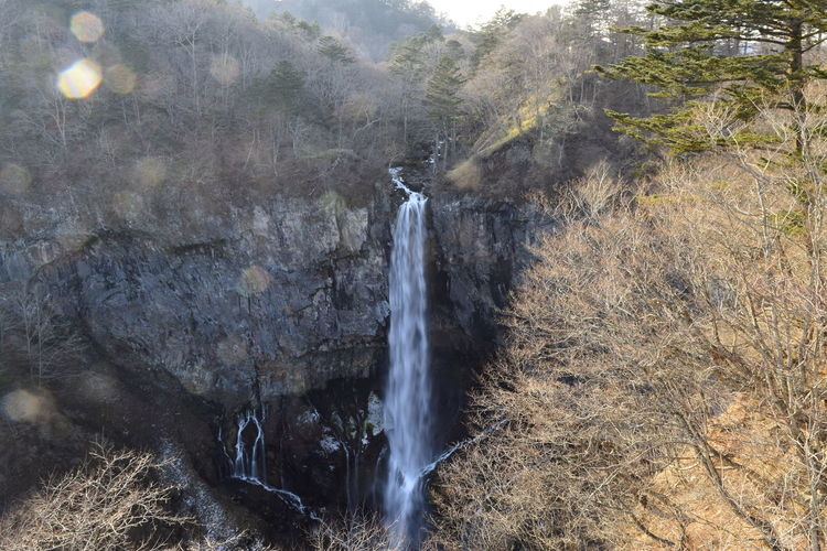 Beauty In Nature Day Japan Kegon Falls Motion Nature Nikko No People Outdoors Scenics Water Waterfall
