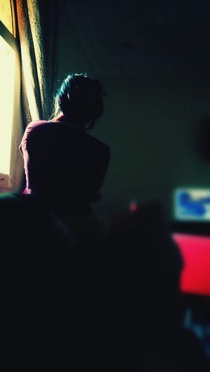 A moment click📷📷...Moment Click One Person Indoors  Day Standing Still By The Window Enjoying Peace Alone But Not Lonely Sun Light Through Window The Week On EyeEm Mix Yourself A Good Time