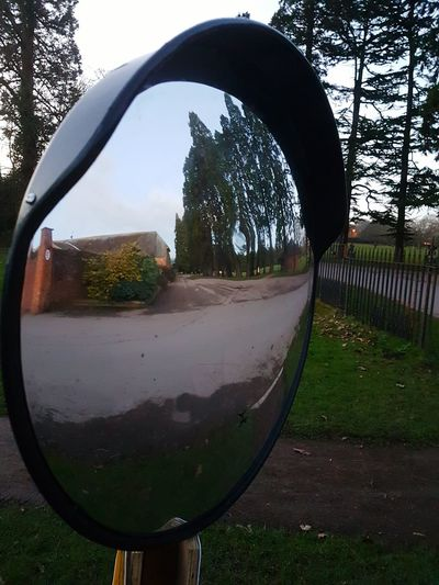 Convexing Tree Reflection Sky Nature Water Outdoors No People Day National Trust 🇬🇧 Tredegar House Newport Mirror Convex Convex Mirrors Convex Mirror Reflection Reflections