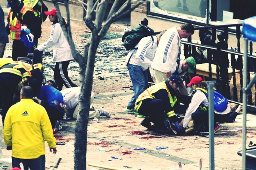 boston marathon explosion 2013 United States Boston Marathon Bomb Pray For Boston :(