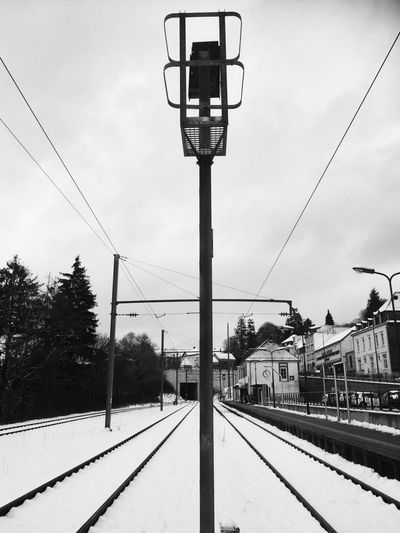 Luxemburg Discover Luxembourg Black And White Railway
