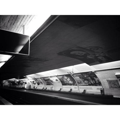 Subway Metro Subway Station Paris Metro