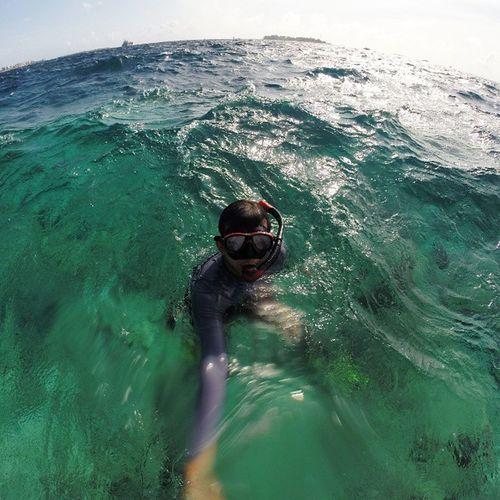 Sedalam² laut di Maldives yg Aku selam,dalam lagi cintaku padamu. Rockkapak Maldives