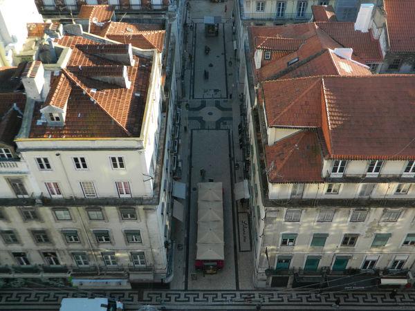 LisboaLisbonLisbonaPortugalSymmetryTravelTravelingViewAerial View City Perspective Perspective Photography High Angle View Fine Art Photography