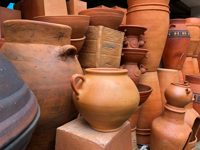 EyeEm Selects Clay Terracotta Earthenware Day Brown Close-up