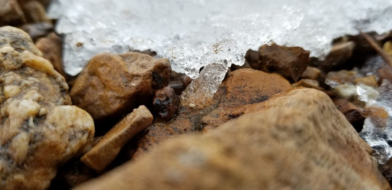 ice on the rocks Frozen Ice Supercloseupiceontherocks Rocks Under Ice EyeEm Selects Water Nature No People Day Outdoors Beauty In Nature Close-up