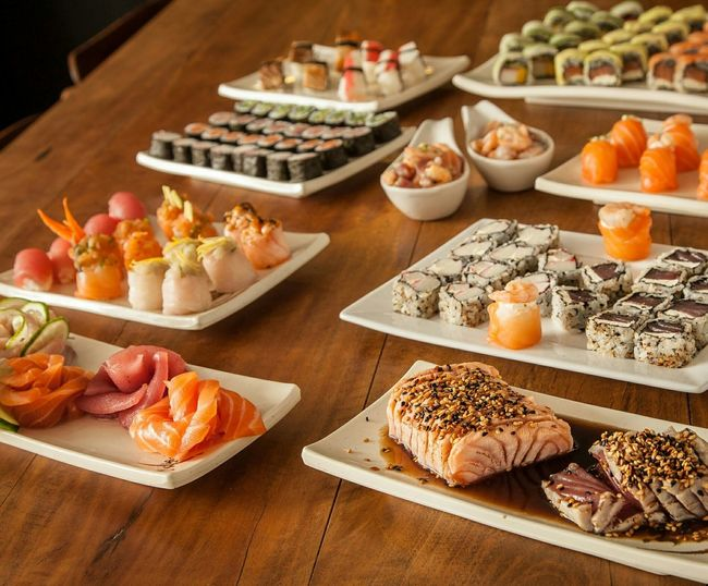 Buffet de sushi em casa! whatsapp 48 96822483 Sushi Buffet Time!!! Florianópolis - SC