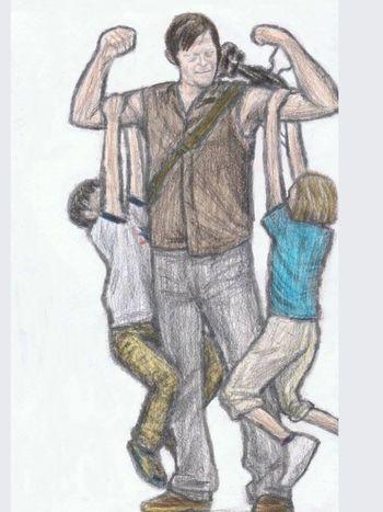 Daryl Dixon The Walking Dead Mi Todo!! ❤ ❤️❤️❤️❤️💎💎💋💋💋