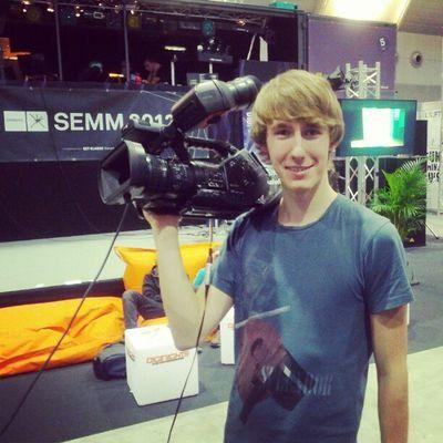 sufe Kameraaction auf der SEMM Sony Messe Stufe Stufetv Semm Messestuttgart Pmwex3
