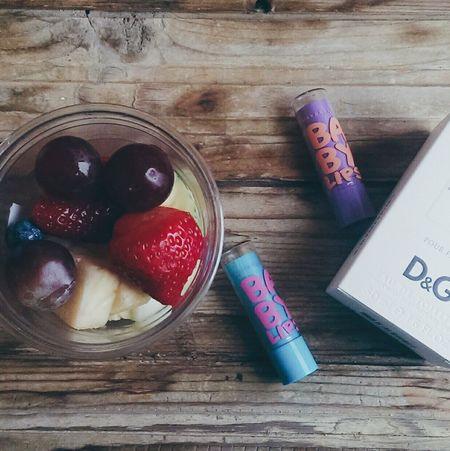 Starbucks Babylips D&G L'lmperatrice фрукты