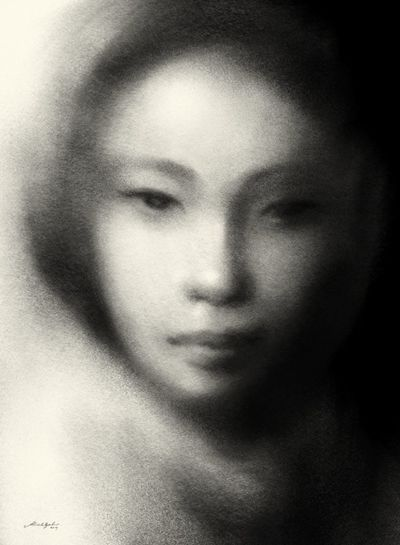portrait drawing, charcoal on toned paper Portrait ArtWork Drawings EyeEm Portrait Of A Friend Blackdrawing
