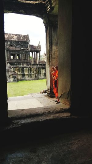 Old Ruin Built Structure Architecture Gate History Ancient Civilization Ancient Travel Destinations My Smartphone Life The Week On EyeEm Beautiful Places In The World Angkor Wat, Cambodia
