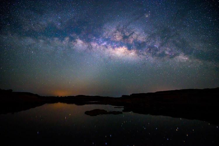 Milky way at