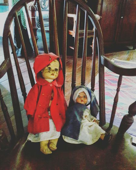 Old House Home Interior Dolls