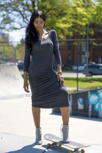 Washington DC Portrait Photography Skatepark Nikon Portrait Of A Woman Model Shoot Photoshoot Portrait SNKshot