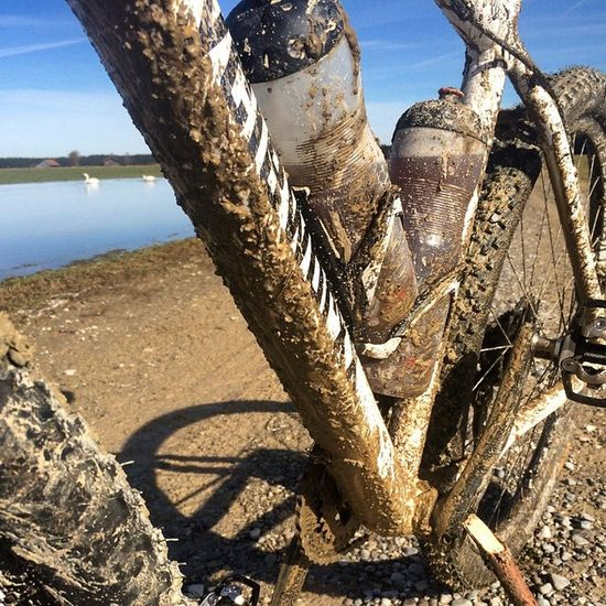 Dirty Ride Mud MTB Matsch Mountainbike Sun White Tauwetter Sonne Dream Sport Cycling Activ Spring