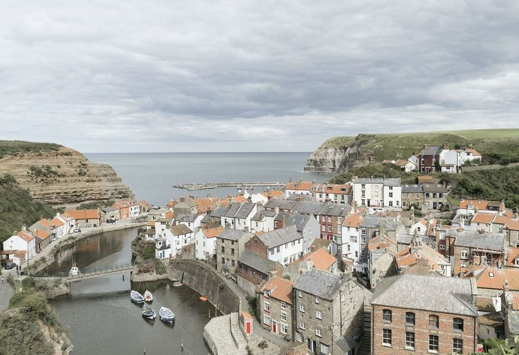 Looking over Staithes. Seascape Seaside Landscape Yorkshire Yorkshire Coast