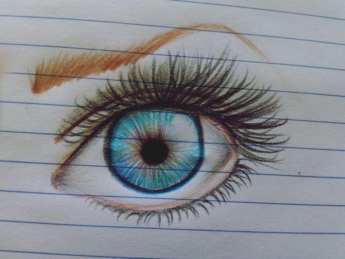 Drawing Draw Eyes Olho