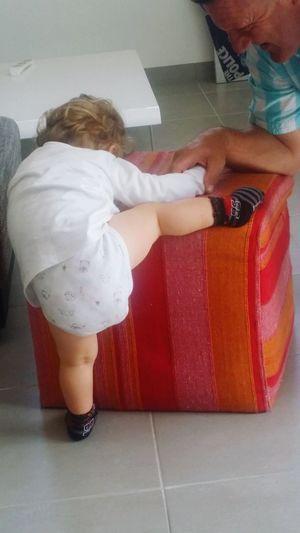 Babyboy Matheo Escalade Dur Dur Petites Gambettes