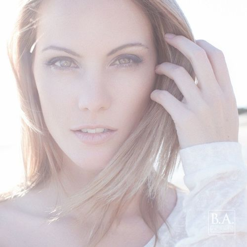 Photoshoot with @lisamichelle1987 BApictures Beach California sunset model