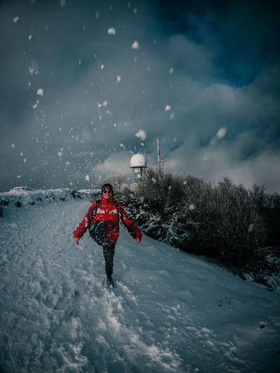 Snow day at mountain ucka