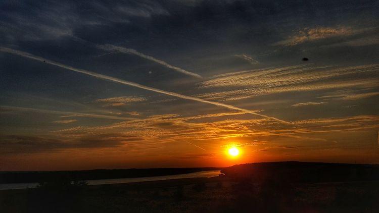 Sunset Nature Cloud - Sky Landscape Sky Tranquility