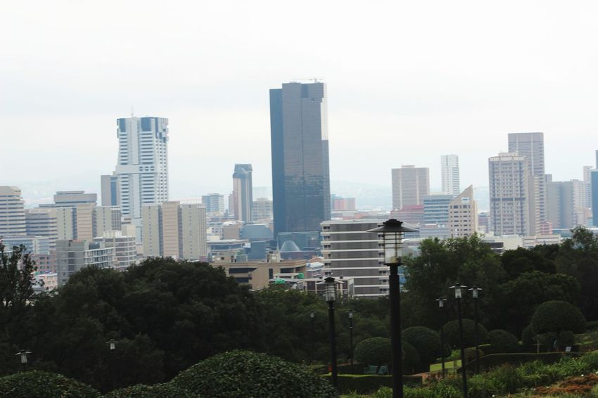 A view from the Union Buildings Pretoria Cloudy Day Union Buildings Cityscape