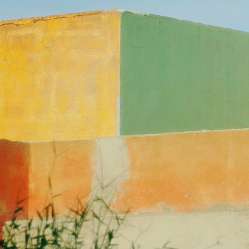 Colorblocking Wall Warm Colors