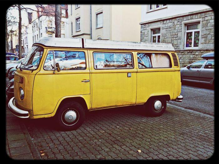 VW Bus at Weststadt Karlsruhe