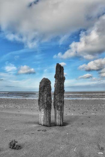 Beach Titchwell Malephotographerofthemonth Nature Photography Beachphotography Seascape Norfolk Sand Water Beach Sky Cloud - Sky Landscape Tranquil Scene Shore Calm Scenics Tranquility Non-urban Scene Coast Ocean