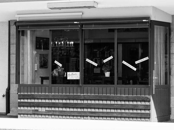 Architecture Bar Black & White Blackandwhite Building Exterior Built Structure Façade Historical Building History Monochrome Public Transportation Rail Transportation Railroad Station Railroad Station Platform Railroad Track Railway Station Restaurant Rüschlikon Switzerland Transportation Window Zurich, Switzerland Zürich Monochrome Photography