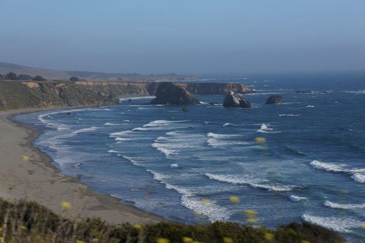 Beach Coastline Landscape No People Outdoors Sea Sky Water