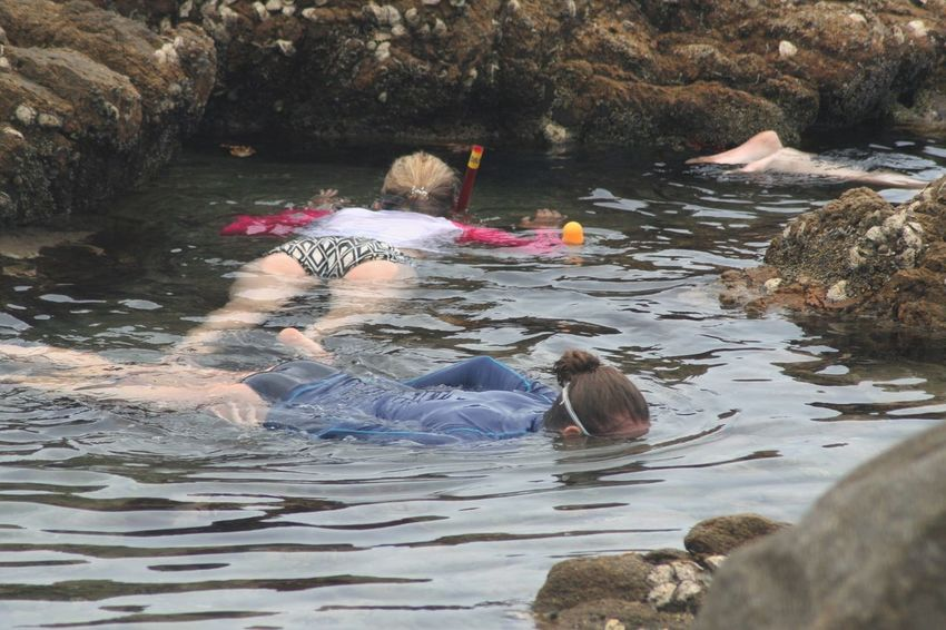 Connected By Travel Exploring Holiday Snorkeling Vacation Time Girls KwaZulu-Natal Coast Leisure Activity Nature New Friends Outdoors Swimming Water Waterfront