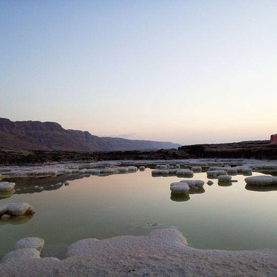Dead sea Sunrise Amazing Salt