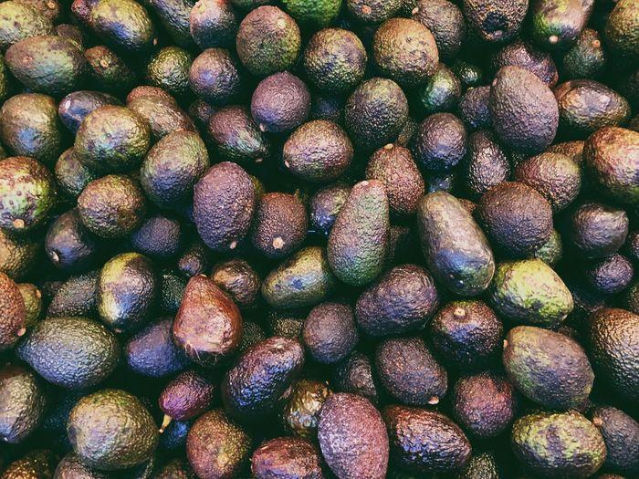 Avocado Full Frame Food Backgrounds Abundance Textured