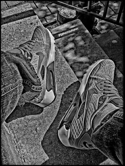 Shoes Nike Airmax90 HDR Istanbul Istanbul Turkey Taking Photos Check This Out Blackandwhite Black & White