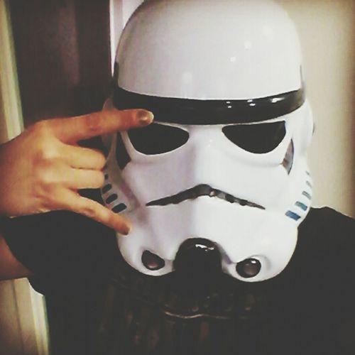 Selfie ✌ Starwars Stormtrooper That's Me Star Wars Star Wars Love Selportrait Frikiyconorgullo Frikis Forever