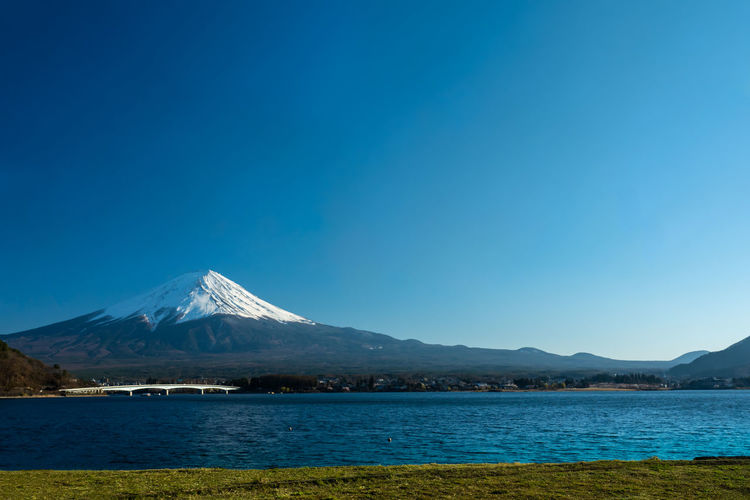 Mt. Fuji in the