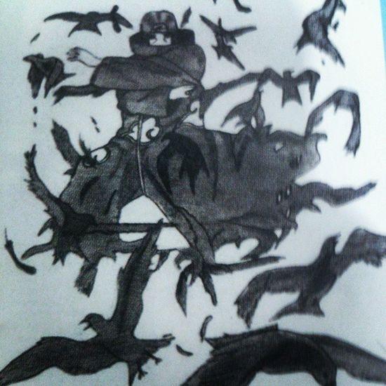 Itachi Naruto Fanart Drawing