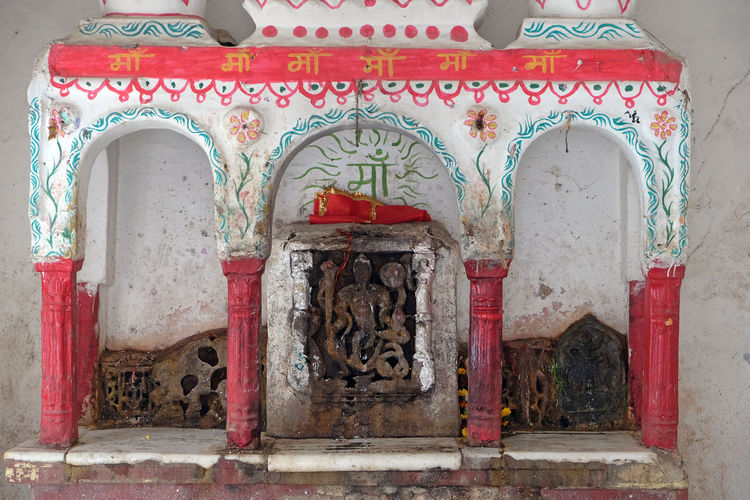 Hindu altar on