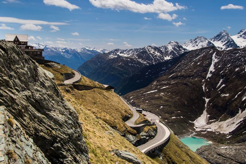 Grossglockner Travel Glacier Water Europe Austria Alps Snow Mountain Mountain Range Landscape 100 Days Of Summer