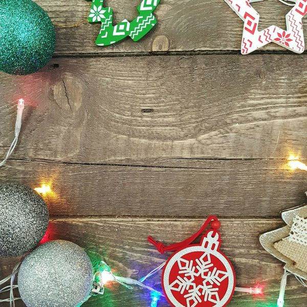 No People Multi Colored Backgrounds Celebration Christmas Christmas Decoration Christmas Ornament Day Flatlay Wood Wooden Star Starshape