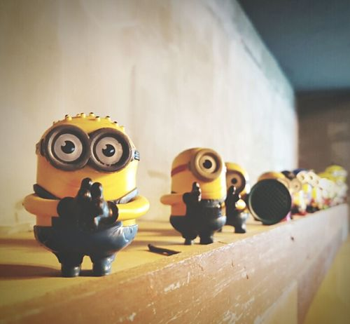 Yellow Indoors  In A Row Group Of Objects Repetition Man Made Object Representation Order Large Group Of Objects Medium Group Of Objects Conformity Check This Out Taking Photos Minimalism Minions Minions ♥♥ Minions🎂🎁🎉😊☺ Minions 🍌🍌🍌🍌🍌