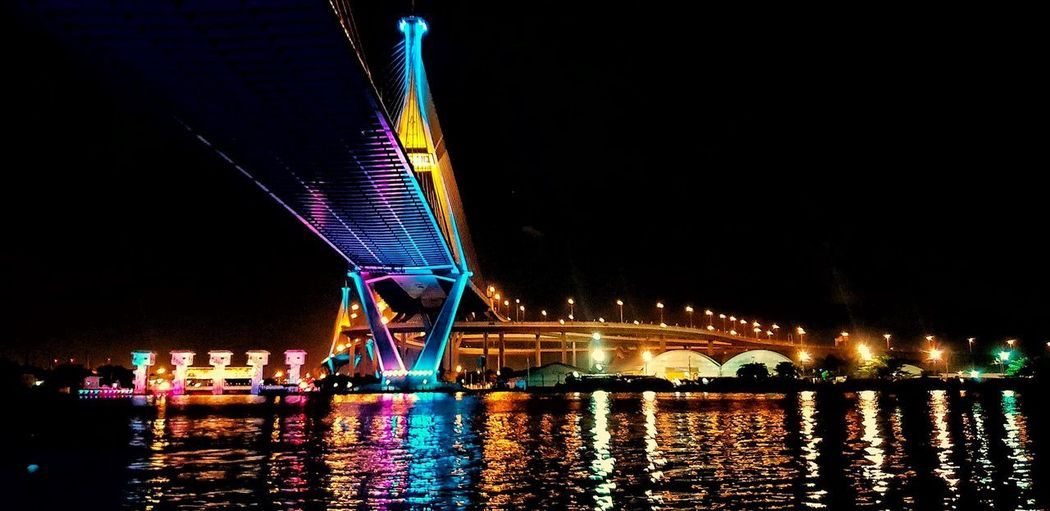 City Cityscape Popular Music Concert Water Illuminated Multi Colored Nightlife Arts Culture And Entertainment Bridge - Man Made Structure Performance