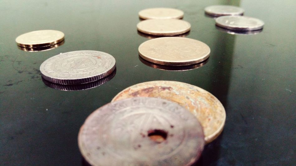 EyeEm Selects Coin Circle Metal Close-up
