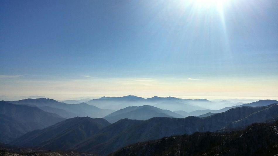 Mountains Wave Korea